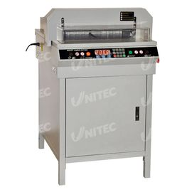 Industrial Paper Cutting Machine 1000W With Automatic Paper Presser 450VS+