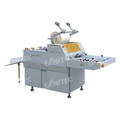 Semi - Automatic Roll Laminator Machine , Single Sided Heated Roll Laminator With Separator SFML-520