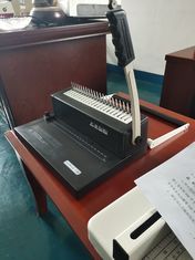 Small Comb Binding Machine with two kinds hand shank